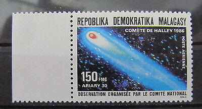A2170 Malagasy Republic 1986 Halley's Comet Mnh**