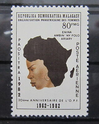 A2174 Malagasy Republic 1982 20Th Anniv. Of Pan-African Women's Org. Mnh**