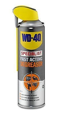 WD40 Specialist Fast Acting Degreaser 500ml Large Can De-Greaser Aerosol