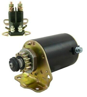 New Starter Solenoid Kit For Briggs & Stratton Air Cooled 7-18 HP Engine 693551