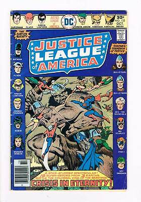 Justice League of America # 135  Squadron of Justice grade 3.5 hot book !!