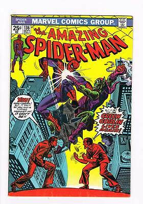 Amazing Spider-Man # 136 Green Goblin grade 8.0 scarce book !!