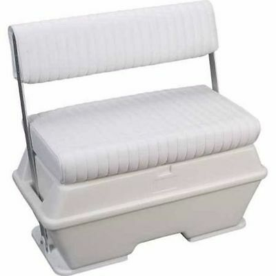 Moeller Deluxe Swing Back Cooler / Livewell Seat 72 Quart Boat Marine ST2200P LC