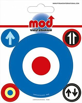 Mod Target Vinyl Stickers New 100% Official Merchandise