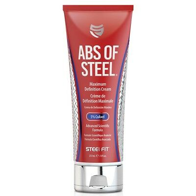 Pro Tan SteelFit ABS OF STEEL Slimming Fat Burner Definition Cream LOSE INCHES