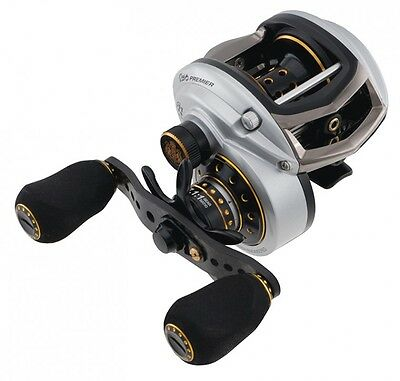 Abu Garcia Revo RVO3 PREMIER LP Baitcaster Fishing Reel Right Hand + Free Braid