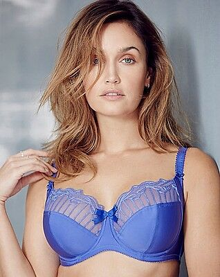 Clearance........Charnos Sienna 129501 Full Cup Bra Sizes 30-40 D-J Cup Bluebell