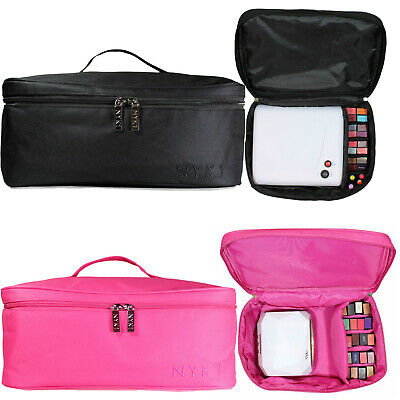 NYK1 PINK or BLACK Gel Nail Case Bag for Nail Technician or Therapist