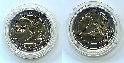 "2 Euro Griechenland 2004 ""Olympiade"""
