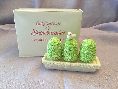 Dept 56 Snowbunnies - Shrubs In A Tub  - Item # 2613-1