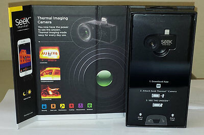Seek Thermal Compact Thermal Imaging Camera Apple iPhone IOS 7+ LW-AAA