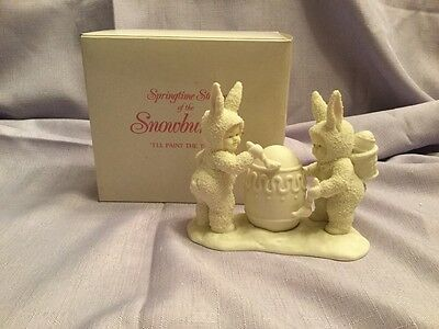 Dept 56 Snowbunnies - I'll Paint The Top...  - Item # 2603-4