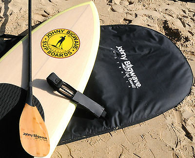 New 10'6 SUP Board with Board bag, Leash, Fins, Deck pad and Carbon fibre paddle