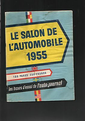l 39 auto journal le salon de l 39 automobile 1955 et les bancs d 39 essais eur 27 00 picclick fr. Black Bedroom Furniture Sets. Home Design Ideas