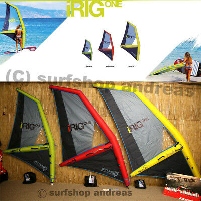 iRig One SUP Segel in Größen S M L Arrows inflatable aufblasbares Windsurfrigg