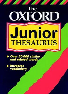The Oxford Junior Thesaurus By Alan Spooner. 9780199107346