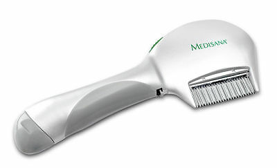 Medisana Electric Battery Zapper Head Lice Nits Comb also for Pets Dogs & Cats