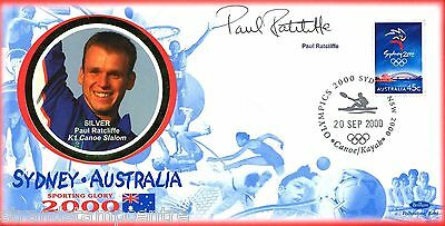 "2000 Sydney Olympics - Benham ""Special"" - Signed by PAUL RATCLIFFE"