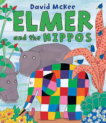Elmer and the Hippos by David McKee, Book (Paperback) New