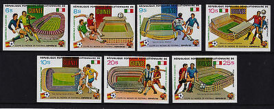 Guinea - 1982 World Cup Football - U/M - SG 1068-74 IMPERF