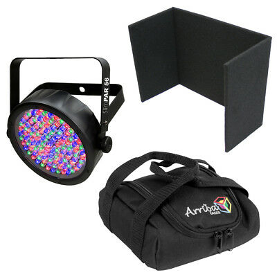 Chauvet DJ Light Slimpar 56 Compact RGB LED UpLight Wash & Uplighting Cover Bag