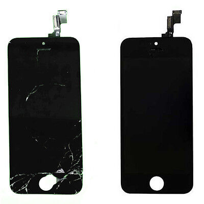 Cracked Broken Glass LCD Digitizer Reburbish Repair Service for iPhone 5 5C 5S