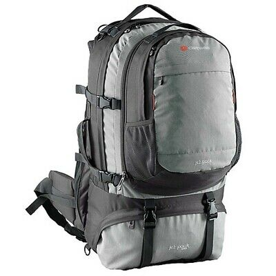 Caribee Jet Pack 75L Travel Backpack with Daypack - Storm Grey