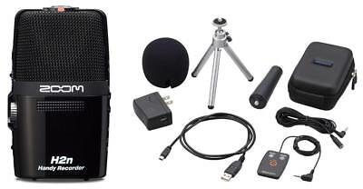 Zoom H2N stereo audio recorder including accessories pack