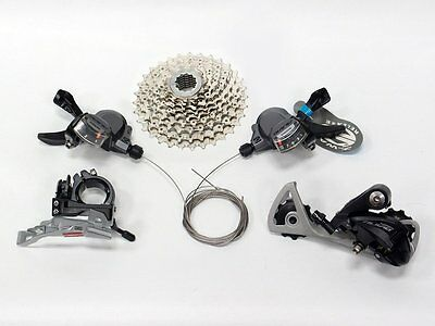 Shimano Alivio M4000 3x9 Speeds Small Groupset With HG400-9 Cassette