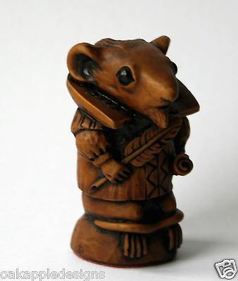 Church Mouse William Shakespeare Ornament Hand Made unique Mice Gift Bard Poet