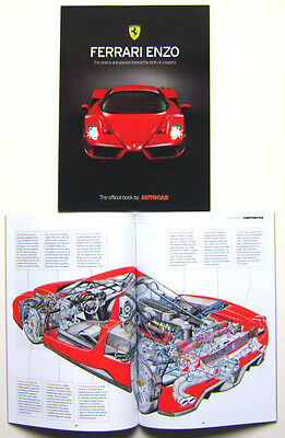 Ferrari Enzo drama & passion behind the legend 2002 Official Book by Autocar