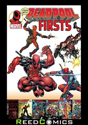 DEADPOOL FIRSTS GRAPHIC NOVEL New Paperback Collects Issue #1's Through The Ages