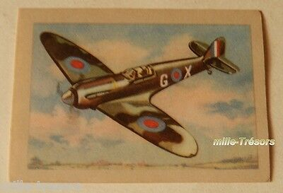Image Collection AVION  : Spitfire Vickers  N° 51 SUPERCHOCOLAT JACQUES