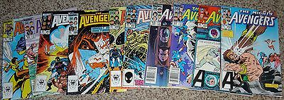 (10) Avengers Comics From #252-264  Vf-Nm