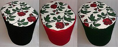 Red Roses Cover for Keurig K10 B31 Mini Plus Coffee Maker (3 Options Available)
