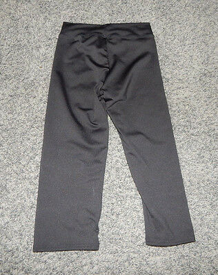 Youth Size 8/10---Motionwear Brand Black Dance Capris- Excellent Condition