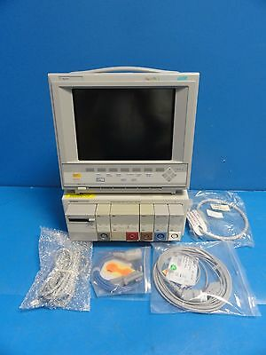Agilent Viridia 24C Neonatal Color Monitor  (CO2 BP SpO2 EKG Temp Print) (9573)