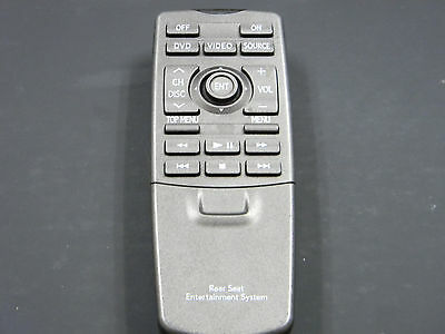LEXUS LX570 REAR DVD Entertainment Remote Control REAR SEAT OEM 86170-50270