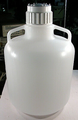 NALGENE 4 Gallon 15 L Round Autoclavable LDPE  Carboy  WITH 83B Screw Cap  NEW