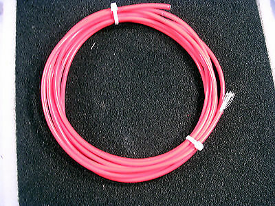 10 AWG RED Teflon Insulated Stranded MIL SPEC M22759/9 WIRE