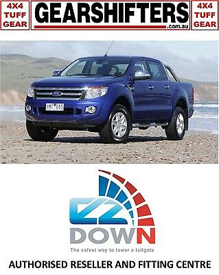 Ford Ranger Px 2011 - 2015 Ezdown Tailgate Descent Assist Kit Diy Install Dcab