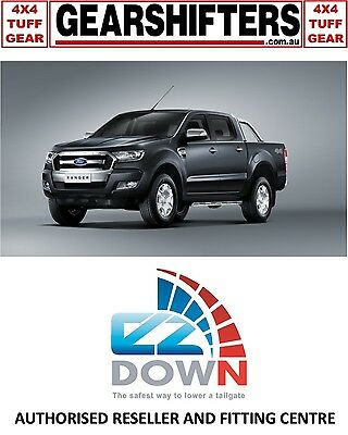 Ford Ranger Px Mkii 2015 On Ezdown Tailgate Descent Assist Kit Diy Install Dcab