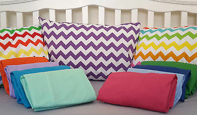 BOORI COT BED SHEET Flat Fitted Set Cover Slip Cotton Blend NEW BABY Collection