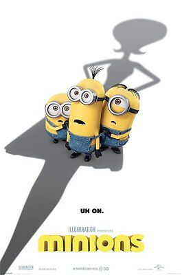 Minions Movie Uh-Oh 91.5 X 61Cm  Poster New Official Merchandise