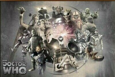 Doctor Who Enemies 91.5 X 61Cm  Poster New Official Merchandise