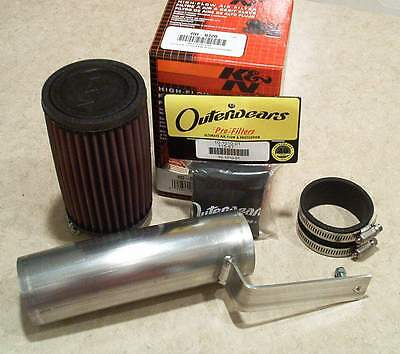 04-05 TRX450R Velocity Intake kit with K&N performance filter & Outerwears 450r
