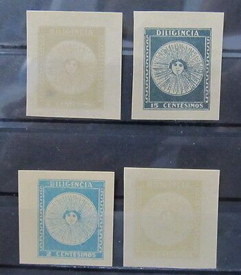 A2344 Uruguay Old Forgery Mh*