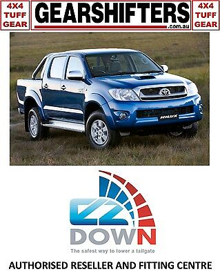 Toyota Hilux 2005 - 2015 Ezdown Tailgate Descent Assist Kit Diy Install Dcab 4X4