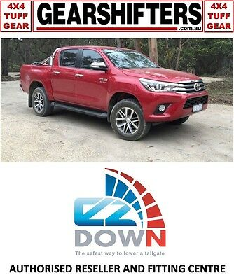 Toyota Hilux Current 2015 On Ezdown Tailgate Descent Assist Kit Diy Install Dcab