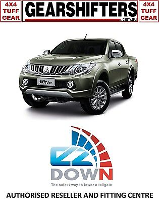 Mitsubishi Triton Mq 2015 On Ezdown Tailgate Descent Assist Kit Diy Install 4X4